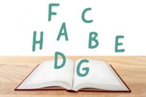 アルファベットに慣れよう